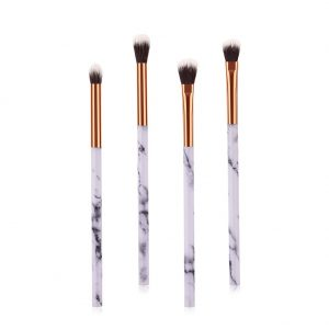 EYE SHADOW BRUSH SET MARBLE HANDLE